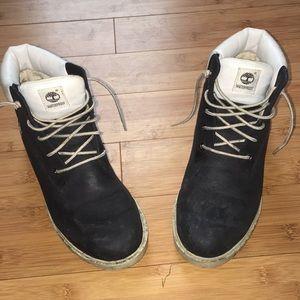 Black Timberland Boots - Waterproof